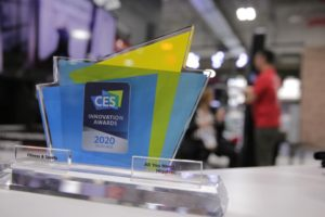 CES 2020 Innovation Award Honoree Plaque
