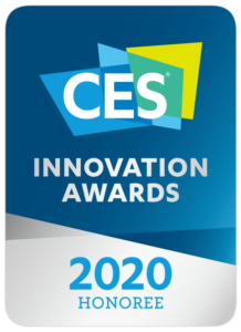 CES 2020 Innocvation Award Honoree Badge